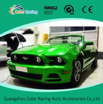 Glossy Green Candy Color Whole Car Body Wrapping Film