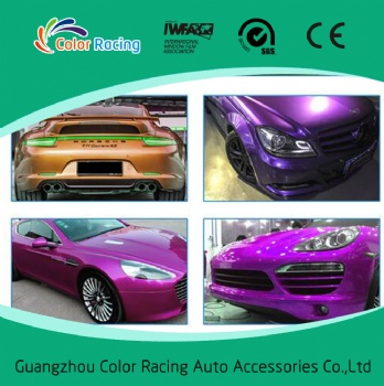 Glossy Candy PVC Self-adhesive Vinyl Car Exterior Accessories