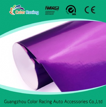 New Product ColorRacing Buble Free Decorative Self Adhesive Candy Vinyl Wrap/Film