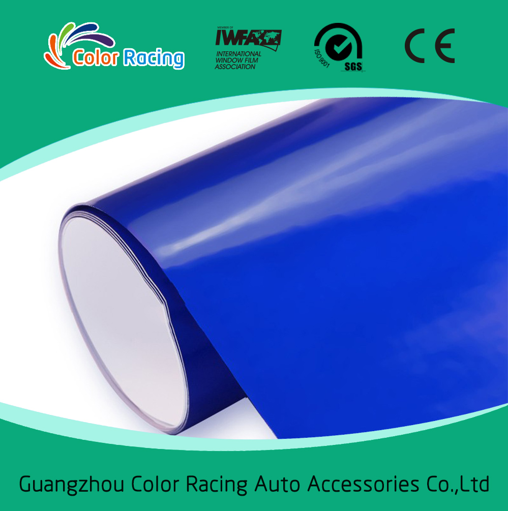 Good Sretchability ColorRacing Brand Glossy Candy Color Car Wrapping Vinyl Rolls