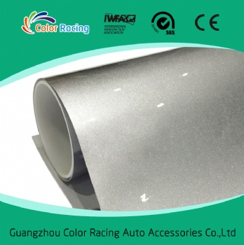 Hot Sale Colored Fashion Glossy 1.52*20m Car Wrapping Pearl Metallic Chrome Vinyl Wrap
