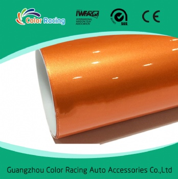 New Product Premium Shiny Pearl Glossy Chrome Vinyl Film For Car Body Decoration