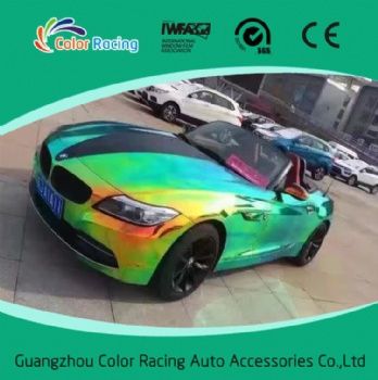 Holographic Car Vinyl Wrap Holographic Rainbow Film Foil For Car Wrap Vinyl