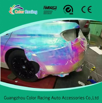 2016 new product!!! colorful rainbow film for car wrap vinyl