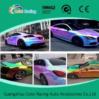 1.35*20m cool appearance rainbow holographic film