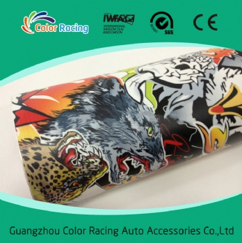 Hot sale car wrap foil sticker bomb size 1.52*30 meter with air free channel