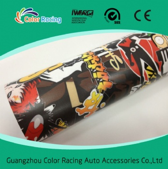 Vinyl Sticker for Car Decoration 1.52*30m Vinyl Roll with Bubble Free Sticker Bomb