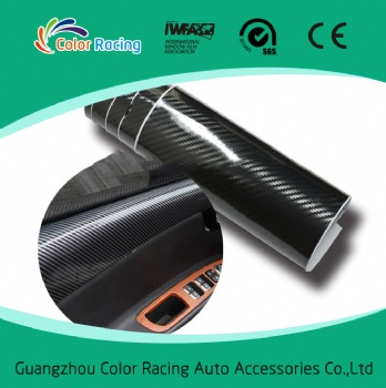 Quality assurance Bubble free car wrap film 5d carbon fiber car wrapping