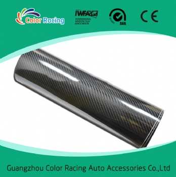 Quality assurance Bubble free car wrap film 5d carbon fiber vinyl car sticker