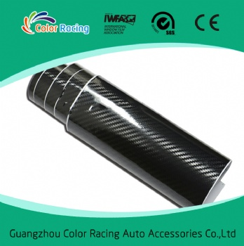pvc sheets black carbon sticker auto car wrap film 5d carbon fiber wrap vinyl