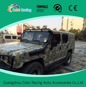 1.52x30m Self Adhesive High Quality camouflage auto vinyl wrap wholesale