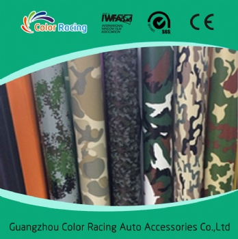 High Quality vinyl wrap camouflage auto body sticker paper