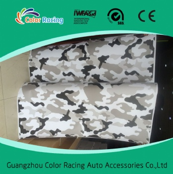 Strong Glue High Quality camouflage vinyl auto wrap sticker