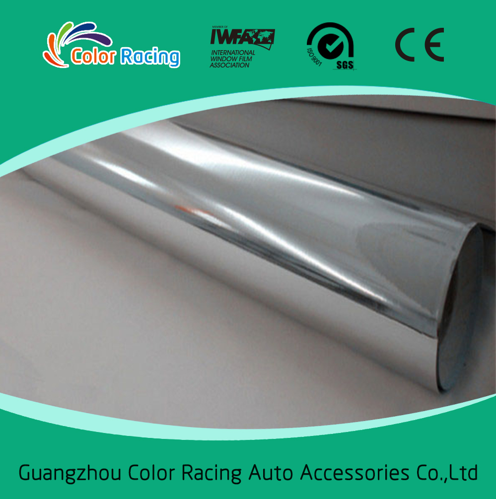 Factory direct sell 1.52x30m self adhesive chrome car wrap vinyl
