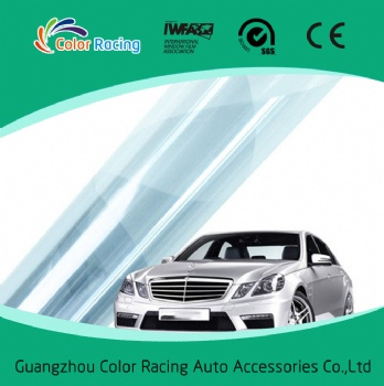 Anti graffiti nano ceramic carbon window dyed film price 2ply anti-scratch