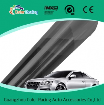 Fast shipping Anti-scratch dyed automotive window film with IR rejection 90%