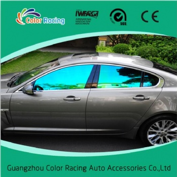 Most popular color changing chameleon colored film for car window