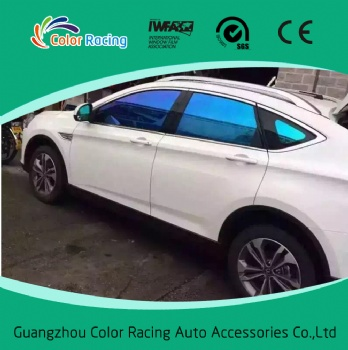 New generation very good shrink car window chameleon changing film