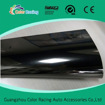 Anti smashing 5%vlt super dark black safety film 4mil thickness