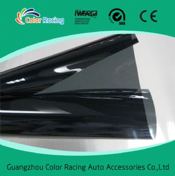 1.52x30m Anti smashing 15%vlt dark black safety film 4mil thickness